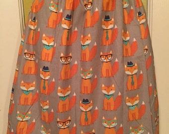 Orange Cats Skirt