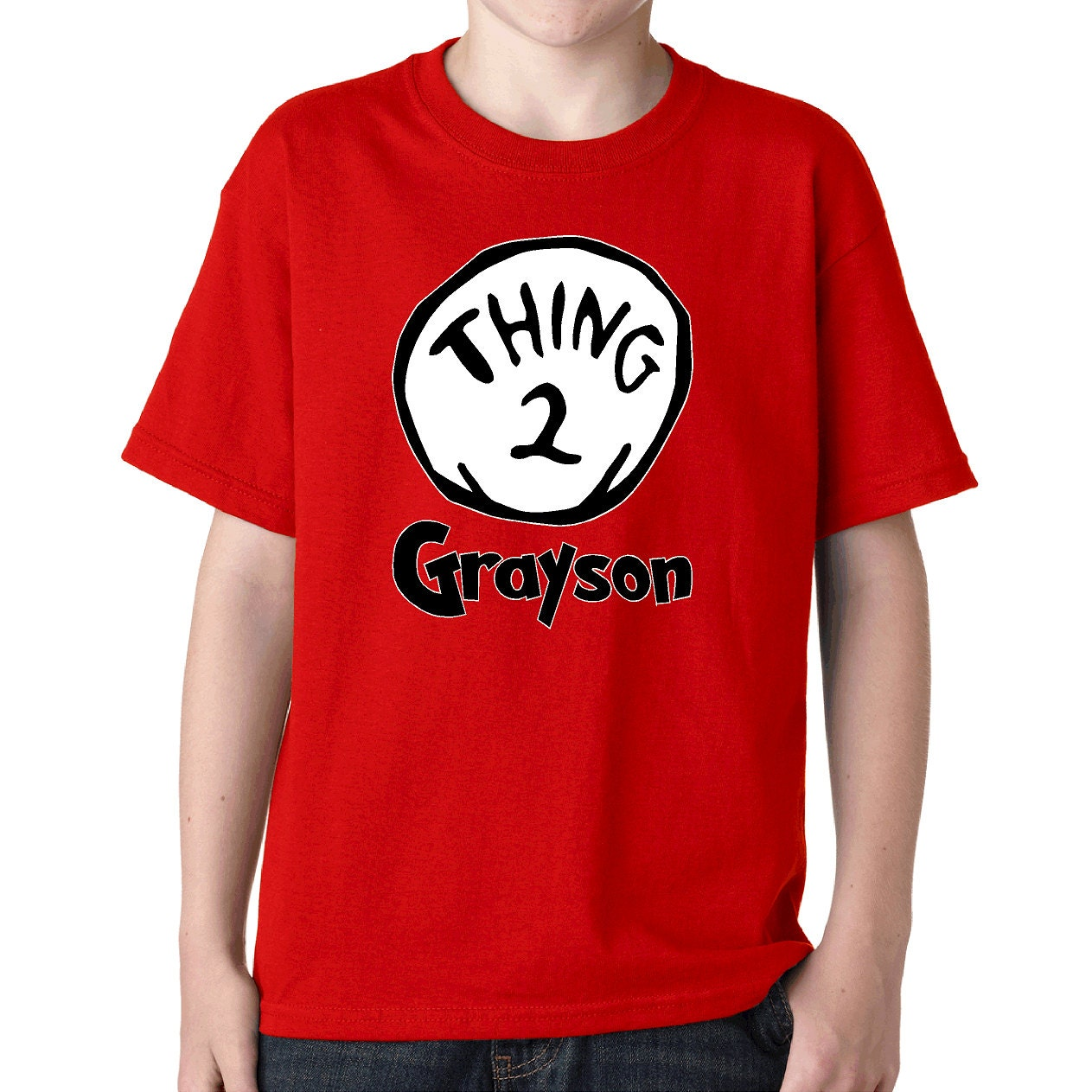 Custom Thing Two Tee Thing 2 T Shirt Seuss Lorax Green Eggs