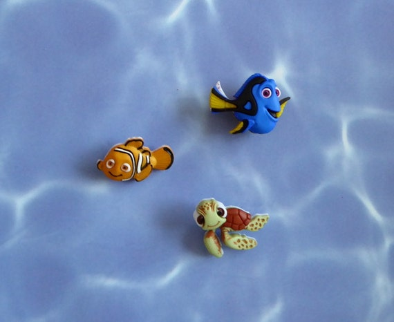 Clown fish blue tang fish sea turtle by moldcreationsnmore for Blue clown fish