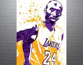 Kobe Bryant - Los Angeles Lakers Poster