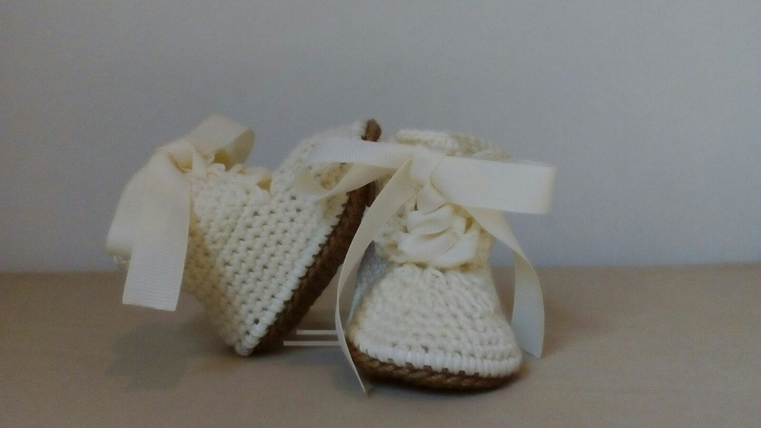 Ivory Baby Boy Blessing Shoes Baptism Shoes Christening