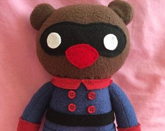 Bucky Bear Marvel Fleece Plush Doll