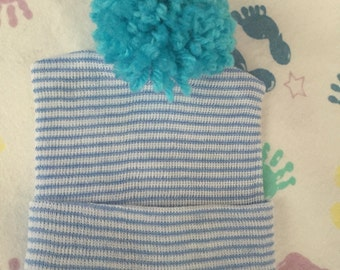 Pompom reborn hat