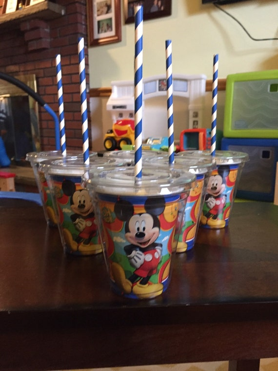 Mickey Mouse Clubhouse Drinking Cups Set Of 8 By