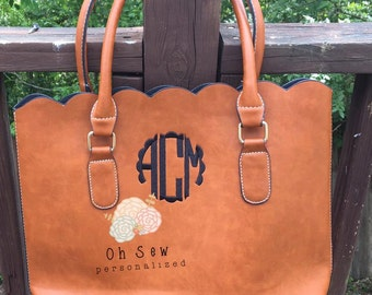 """Shop """"monogrammed purse"""" in Totes"""
