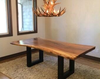 4 U Shape Table Legs Set