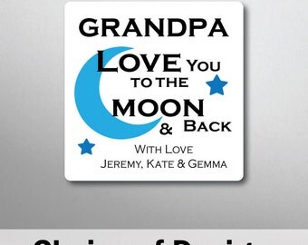 Personalised Grandpa Quote Magnet