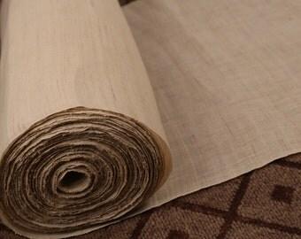 ramie fabric ,natural colthing,plain Fabric-58cm wide-1yard ramie curtain Fabric