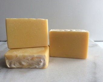 Lemongrass Purely Natural Cold Process Soap