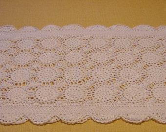Crocheted Dresser Scarf