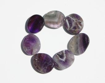 Amethyst Palm Stone, Amethyst Crystal, Amethyst Worry Stone, Palm Stone, Reiki Stone, Chakra Stone, Healing Crystal, Healing Stone, Amethyst