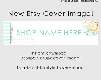Etsy Cover Photo / Etsy Cover Image / Premade Etsy Banner / Premade Cover Photo / Shop Banner / Cover Image / Stock Photo / Style-108