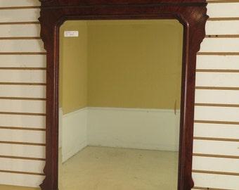 40154E:  DREXEL Heritage Chippendale Mahogany Framed Mirror