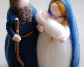 Nativity, Nativity tale Waldorf-inspired wool