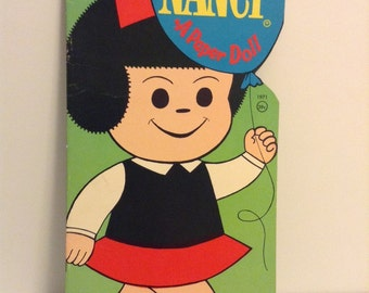 """1971 Paper Doll """"Nancy"""" by Whitman"""