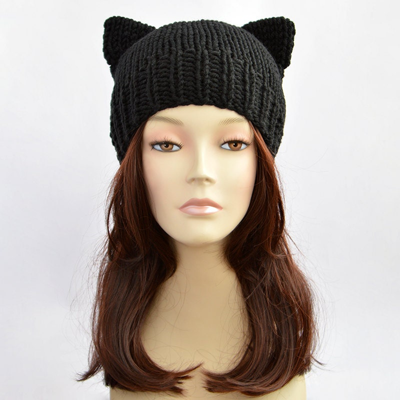 Cat Beanie Hat Pattern
