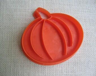 Large Pumpkin Cookie Cutter, Orange Plastic Cookie Cutter, Pumpkin Cookie Cutter, Halloween Pumpkin Cookies, Jack-O-Lantern NotOnlyButtons