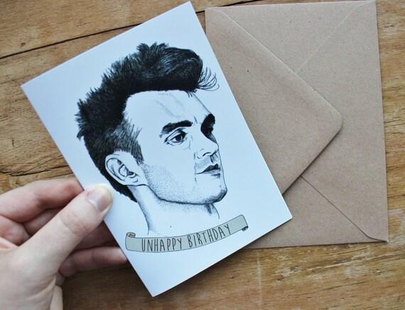 Birthday Card – Morrissey Birthday Card