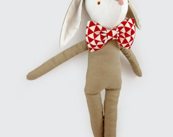 Le Lapin - Bunny soft toy, Rabbit bunny plush doll, Hare toy, Bunny Soft Toy Doll
