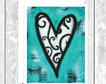 Romantic Card. Just Because Card. Anniversary Love Card. Card for Boyfriend. Card for Husband. Card for Wife. Card for Her. Friend Greeting.
