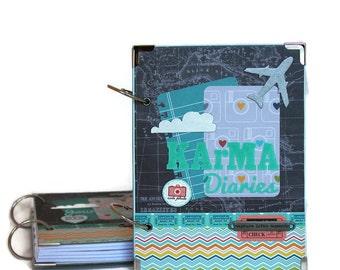 Adventure Journal - Wanderlust Journal - Best Graduation Gift - Adventure Notebook - Gift For Sister - Gift For Traveler - Gift For Friend