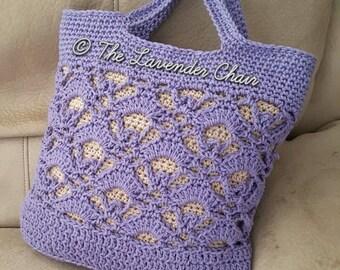 Gemstone Lace Market Bag Crochet Pattern *PDF FILE ONLY* Instant Download