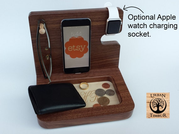 Wooden Charging Station Gifts For Men Gift Ideas By