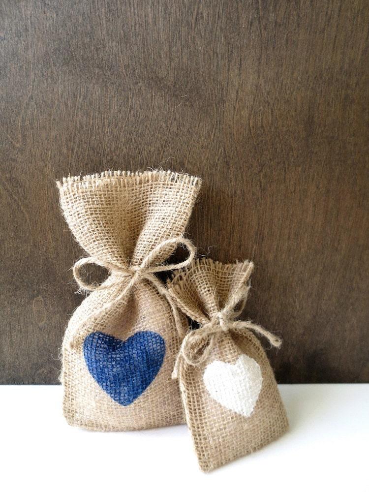 Wedding Gift Bags Burlap : 30 Wedding Favor Bags Burlap Favor Bags Rustic Gift Bags