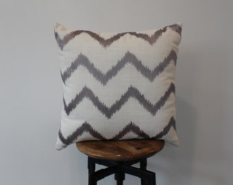 Chevron Pillow 22x22""