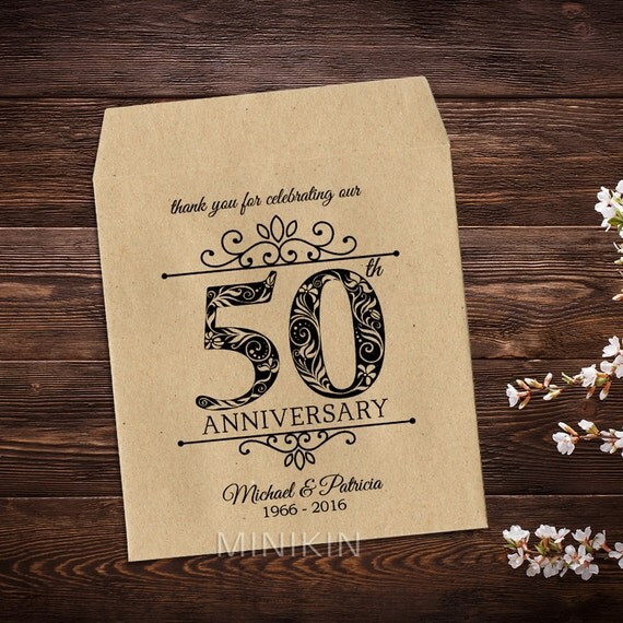 Wedding Gifts For Guests New Zealand : 50th Wedding Anniversary, Seed Packet Favors, Anniversary Gifts ...