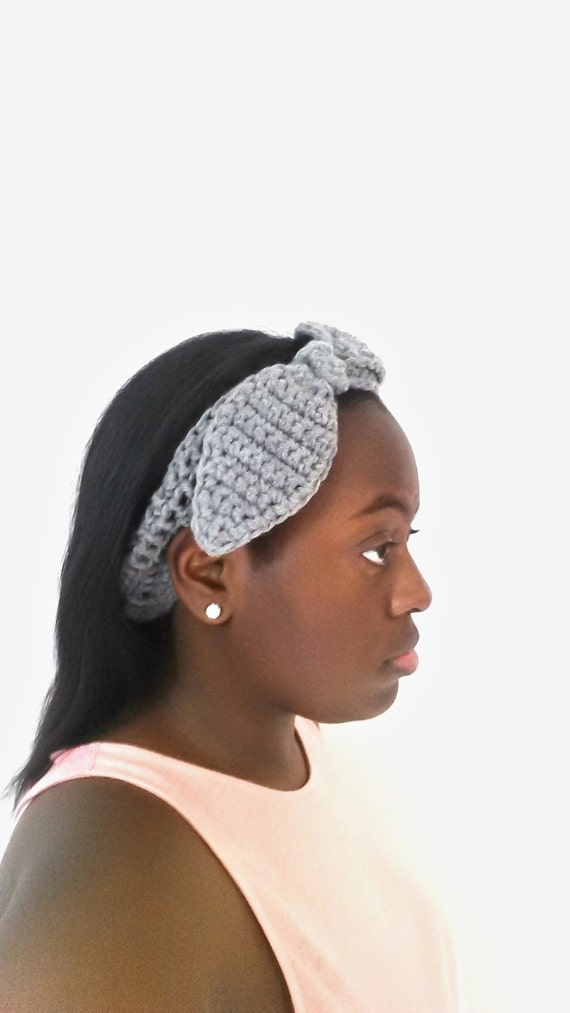 Crochet Bunny Ears Headband - Unique Gifts for Women - Gifts for Girlfriend - Crochet Headband Women - Birthday Gifts for  Best Friend