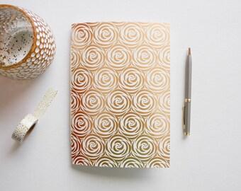 travel journal, lined journal, floral journal, small sketchbook, writing journal, bridesmaid gift, notebook journal, prayer journal
