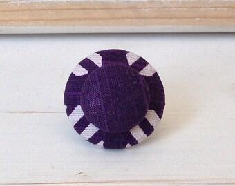 Japanese fabric Adjustable ring