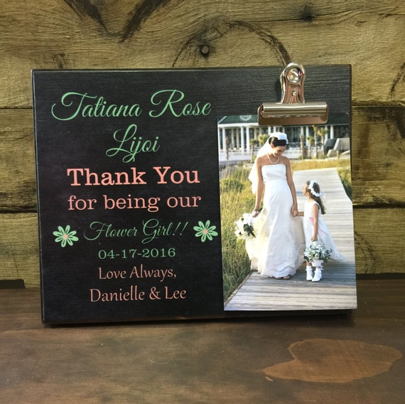 Flower Girl Wedding Gifts: Flower Girl Thank You Gift Thank You For Being Our Flower