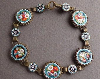 Early micro Mosaic bracelet