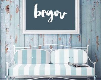 PRINT-Begou, Mots Acadiens,  Acadian Words