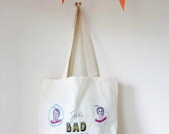 Jane's Bad Boys Tote Bag