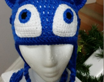 PJ Masks Catboy Inspired crochet hat
