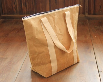 Bag made of sturdy recycled paper shopping bag made of recycled paper