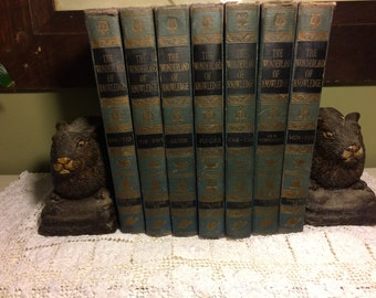 Rustic Brown Bunny/Rabbit Cast Poly Resin Bookends
