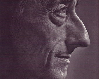 Jacques Cousteau portrait by Yousuf Karsh for the book Karsh Portraits