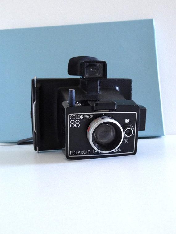 polaroid vintage ann es 70 appareil photo polaroid land. Black Bedroom Furniture Sets. Home Design Ideas