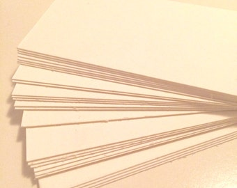 25 Blank Business Cards