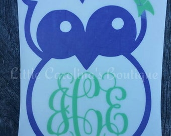 Owl Decal #3