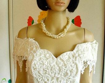 yellow 2 piece prom dress 1980