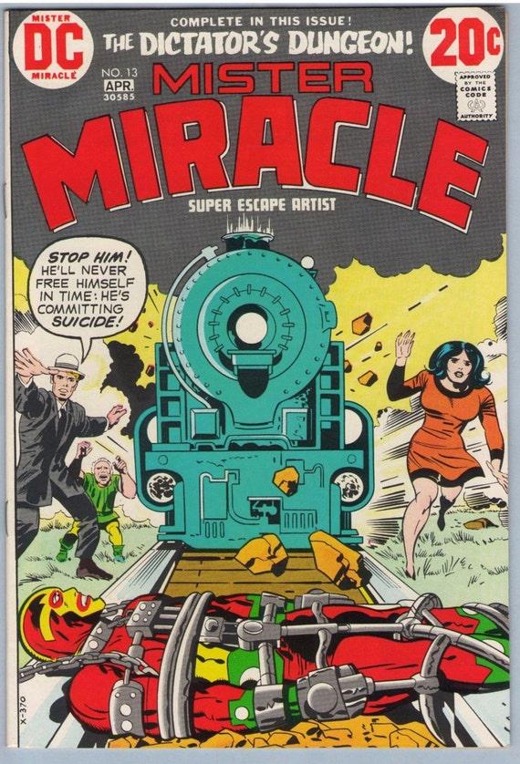 Mr. Miracle 13 Apr 1973 NM- (9.2)