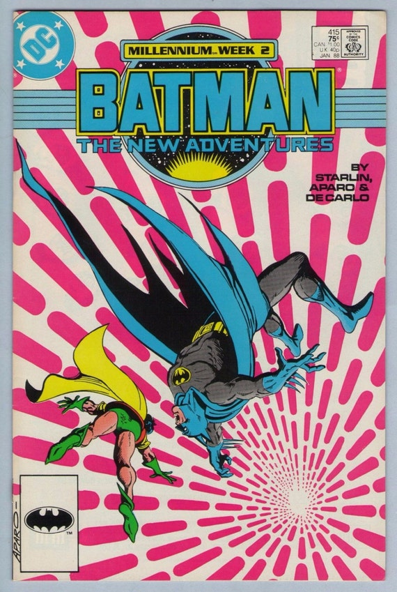 Batman 415 Jan 1988 VF-NM (9.0)