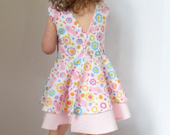 Toddler Easter Dress - 18 Months - Ready to ship!