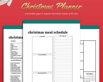 Christmas organizer | Etsy