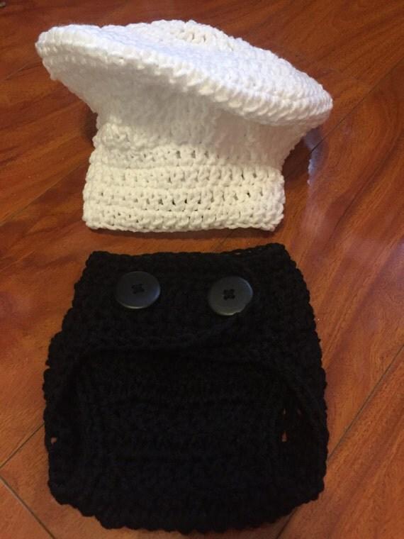 Crochet Baby Chef Costume